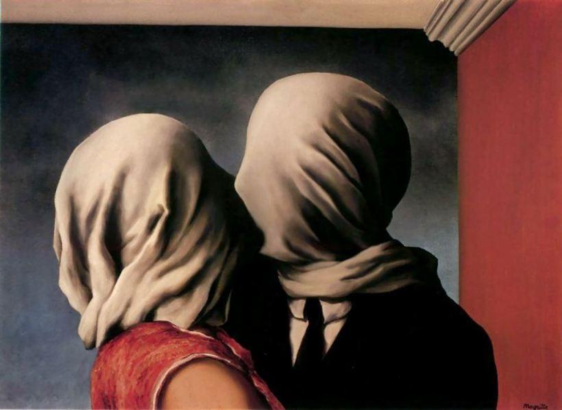 """Magritte, """"Les amants"""""""
