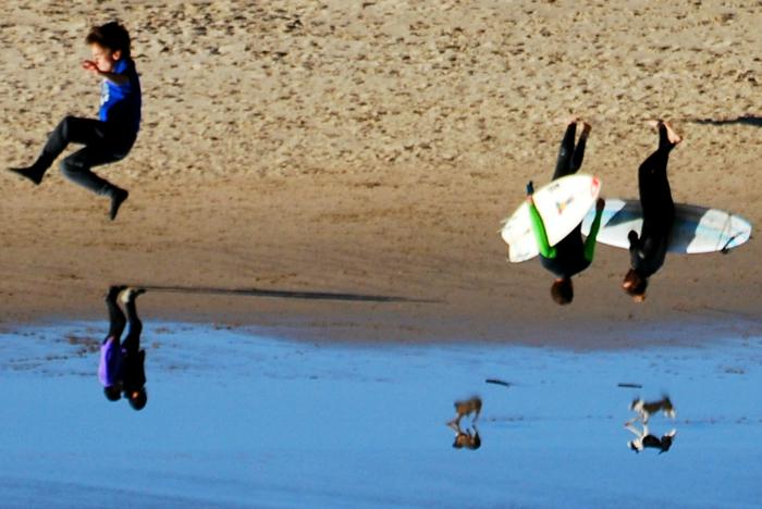 Playa de la Zurriola - Donostia - Photo by Joséluis Vázquez Domènech